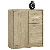 Kensington 2 Door 2 drawer Cupboard Sonama Oak