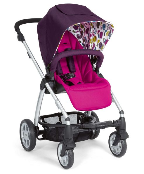 Mamas & Papas - Sola Pushchair - Plum Petal