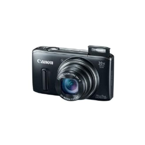 Canon PowerShot SX260 HS Digital Camera Black with GPS