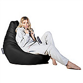Big Bertha Original™ Indoor / Outdoor Highback Bean Bag - Black