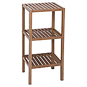 Möve Bamboo 3 Tier Shelf in Wood