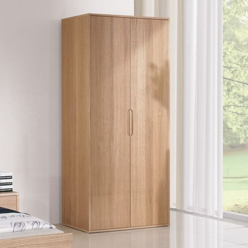 Urbane Designs Bolero 2 Door Wardrobe in Oak