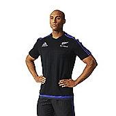 adidas New Zealand All Blacks Cotton Tee 15/16 - Black