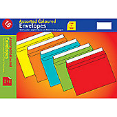 Blake C5 Vibrant Envelope Peel and Seal 120gsm Assorted Pack of 15 VBC5/15