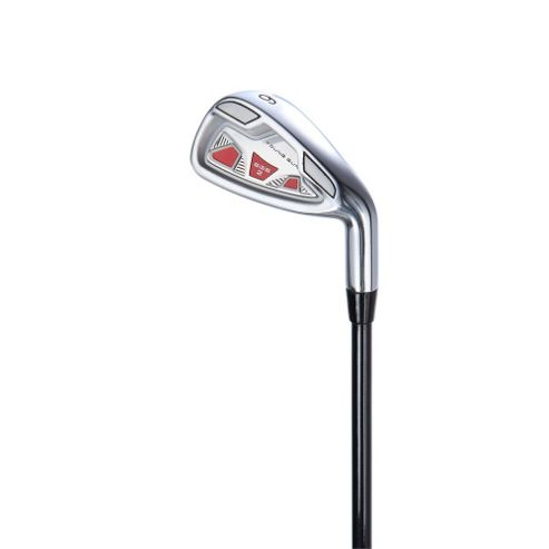 Young Gun Sgs V2 Junior Golf Club 6 Iron Right Hand Red Age 9-11