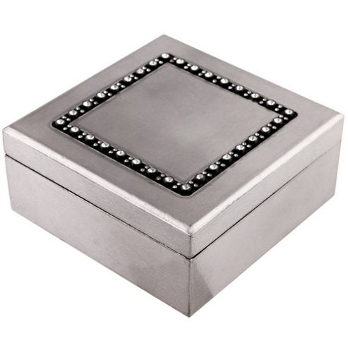 buy gem crystal detail trinket storage box dark. Black Bedroom Furniture Sets. Home Design Ideas