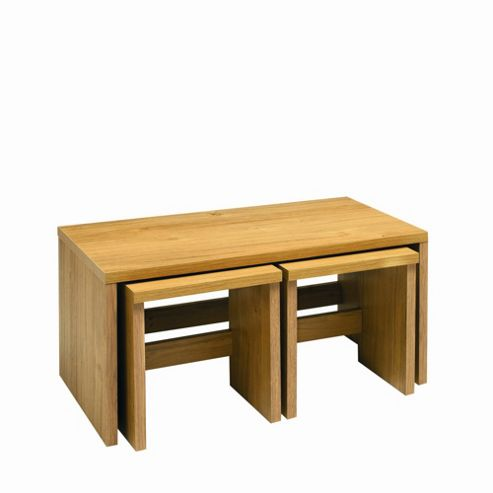 Caxton Strand Long John Table Combination in Oak
