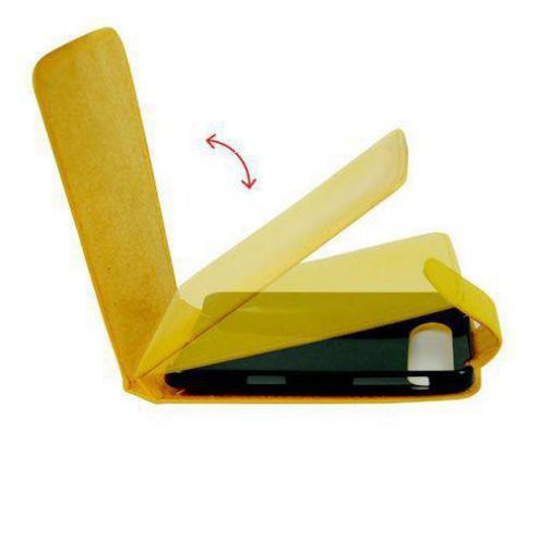 U-bop Neo-ORBIT Leather Case Yellow - For  HTC Google Nexus One N1, HTC Desire, Driod Eris, HTC Bravo