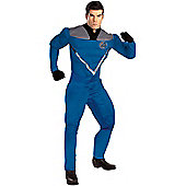 Mr Fantastic Muscle Super Hero Fancy Dress Costume