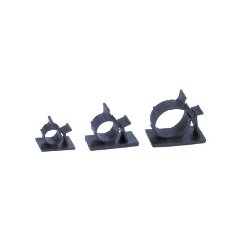 Adjustable Self-Adhesive Cable Clamp Clip 12.6 -15.4mm