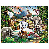 Jungle Adventure Wallpaper Mural 8ft x 10ft