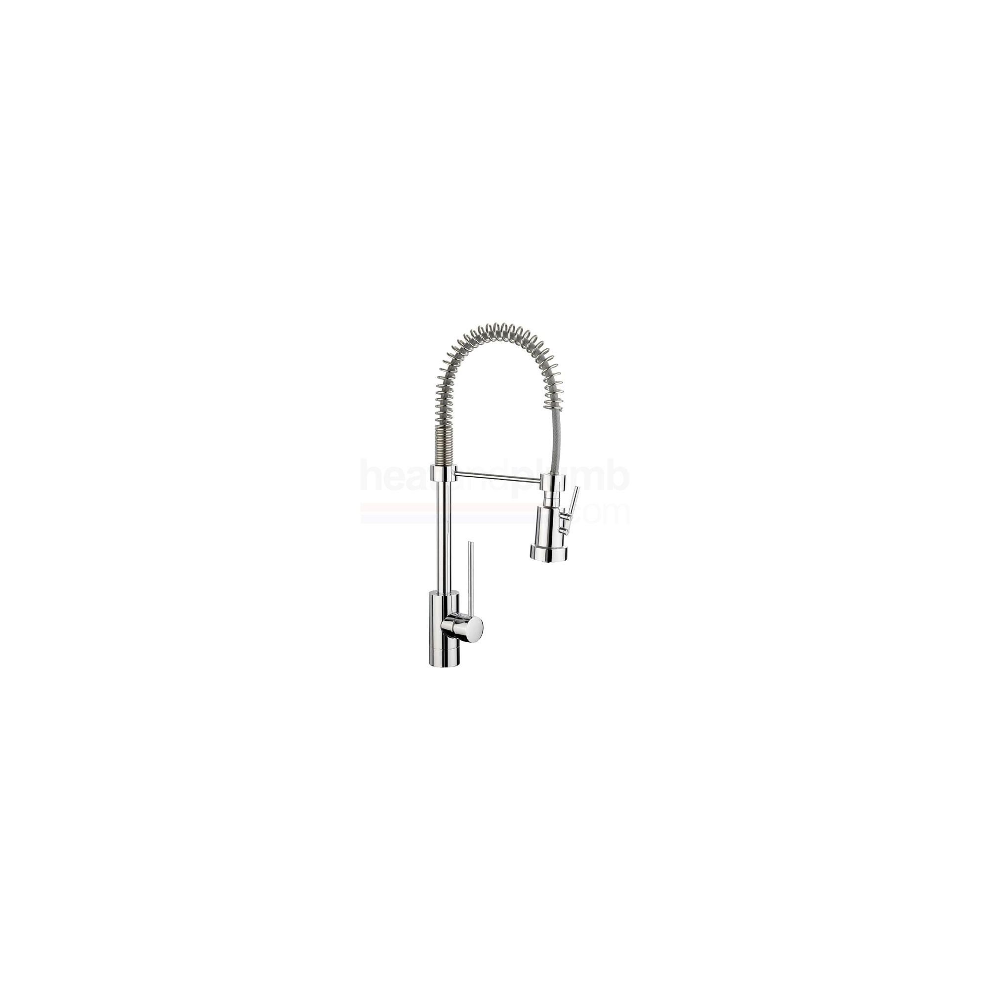 Rangemaster Pro Spray Single Lever Mono Kitchen Sink Mixer Tap Chrome at Tesco Direct