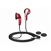 Sennheiser MX365 In-Ear Headphones - Red