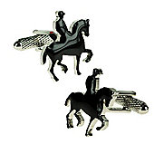 Horse & Rider Novelty Themed Cufflinks
