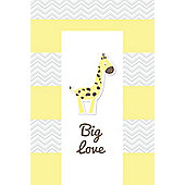 Babywise Baby Changing Mat - Big Love Giraffe