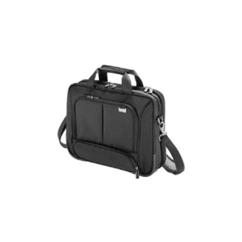 Dicota TopTraveler Slight Shoulder Bag (Black) for 10 inch - 12.1 inch Notebook, Tablet and Further Mobile Computing Equipment