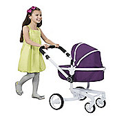 Silver Cross 3 In 1 Dolls Pram Damson Surf