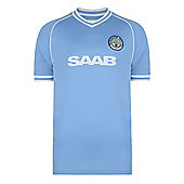 Manchester City 1982 Home Shirt Sky Blue L
