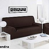 Elainer Home Living Sandra 3 Seater Sofa Cover - Bordeaux