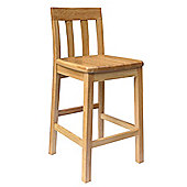 Oakinsen Jacob Timber Seat Bar / Kitchen Stool