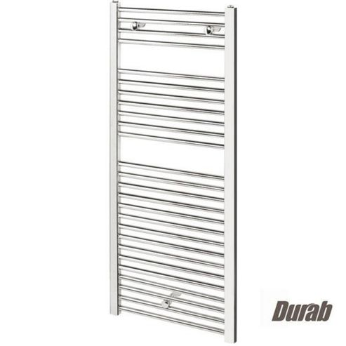 Durab Straight Ladder Towel Rail 688mm High x 450mm Wide CHROME
