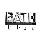 Premier Housewares Bath Mirrored Coat Hook