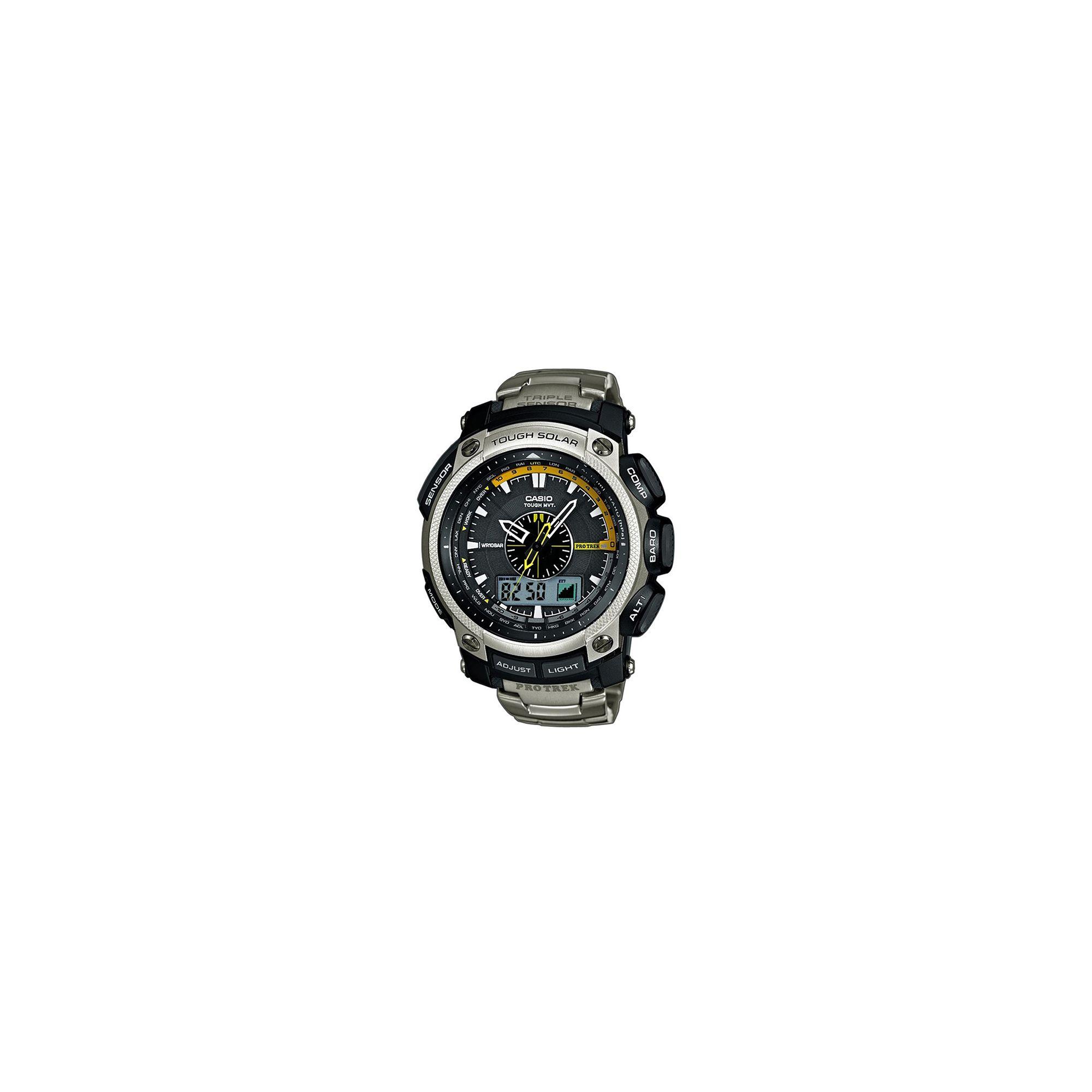 Casio PRW5000T-7E Protrek Radio Controlled Watch at Tesco Direct