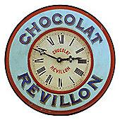 Roger Lascelles Clocks Revillon Bistro Clock