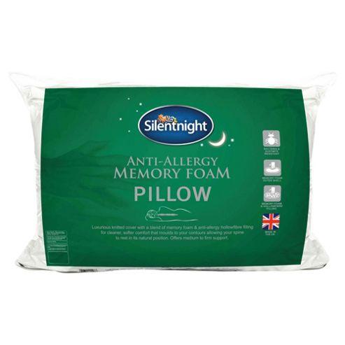 Silentnight Anti-Allergy Memory Foam Pillow