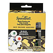 Speedball Oil-Based Block Printing Ink Starter Set