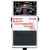 Boss TU-3 Chromatic Stage Tuner
