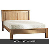 JN Direct Buckland Solid Oak 4ft6 Double Bed