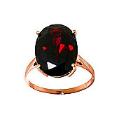 QP Jewellers 6.0ct Garnet Valiant Ring in 14K Rose Gold