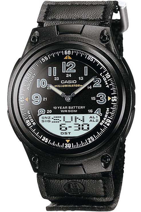 Casio Illuminator Combination Watch AW-80V-1BVEF