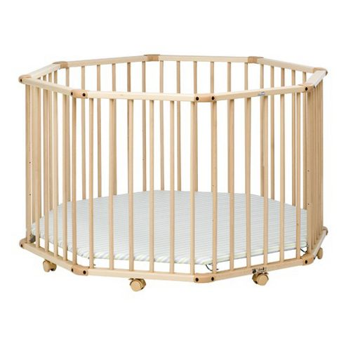 Geuther Geuther Octo-parc Playpen in Natural