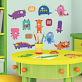 Childrens Wall Stickers - Monsters