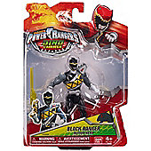 Power Rangers Dino Charge 12cm Figure - BLACK