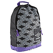 Umbro Titus Grey/Purple/Black Rucksack