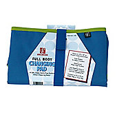 JL Childress Full Body Changing Mat Pad Blue & Green