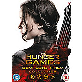 The Hunger Games Complete Collection DVD