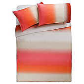 Tesco Ombré Duvet Set Double, Burnt Orange