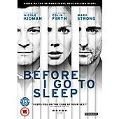 Before I Go To Sleep (DVD)