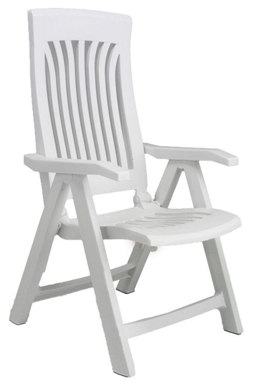 Nardi Flora Chair in White