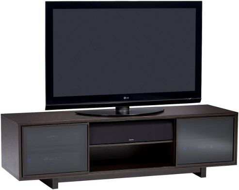 BDI Espresso Stained Oak TV Cabinet For Up To 75 inch TVs