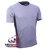 "Canterbury ""Coolers"" Short Sleeve Grey Crew T-Shirt - Grey"