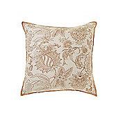 Linea Terracotta Oversized Printed Cushion