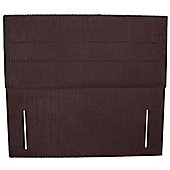 Double (135cm) Naples Headboard - Dali Chord Burgundy
