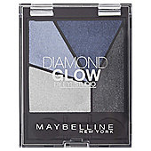 Maybelline Diamond Quad Glow Eyeshadow 03 Blue Drama