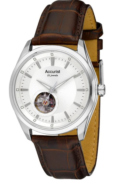 Accurist Gents Automatic Bracelet Watch MS907S