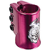 Madd Gear HotHead Oversized Triple Collar Scooter Clamp - Purple